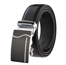 Fashion designer leather strap male automatic buckle belts for men authentic girdle trend men's belts ceinture,cinto masculino(China (Mainland))