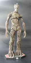 Hot Toys Guardians of the Galaxy Groot 1/6 Scale PVC Action Figure Collectible Model Toy 38cm KT062(China (Mainland))