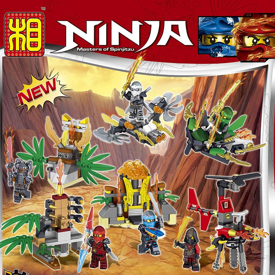 popular ninjago figures set buy cheap ninjago figures set. Black Bedroom Furniture Sets. Home Design Ideas