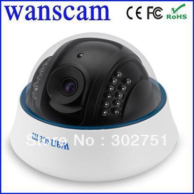 Wireless Wi-Fi Dome Helmet Ceiling IR Night Vision Infrared CCTV Security Surveillance Network Webcam Internet IP Camera WANSCAM(China (Mainland))
