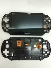 original new for ps vita psvita 2000 lcd assembled lcd screen display black in stock(China (Mainland))