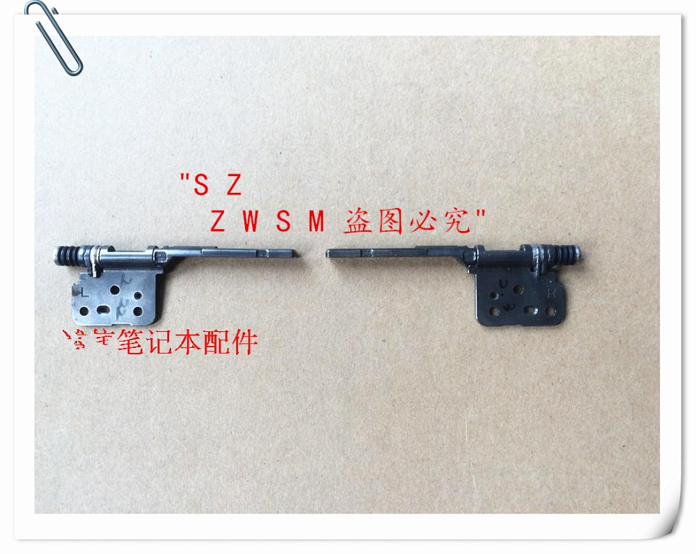 Genuine New Free Shipping LCD/LED Display Screen Left&Right hinges For Samsung XQ500T1C XE500T1C Notebook LCD Monitor Axis(China (Mainland))