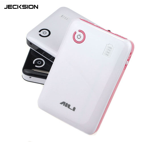 Гаджет  Jecksion 2015 New 5V 2A Dual USB Output 4x 18650 Power Bank Battery Pack Case Holder Free Shipping None Бытовая электроника