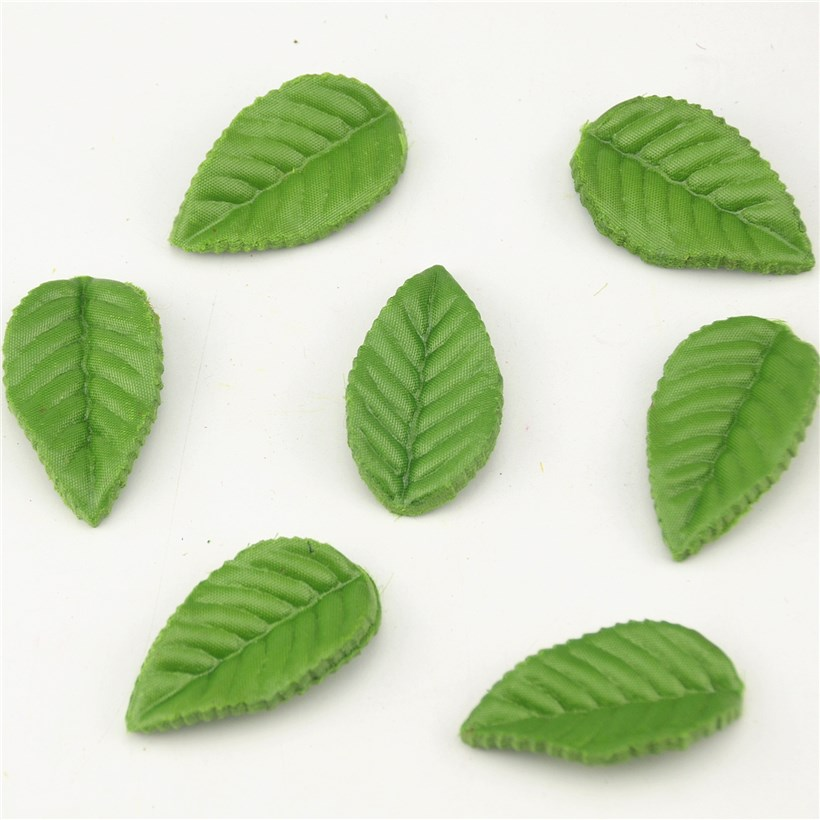 200pcs Green Christmas Leaves Artificial Flower For Wedding Decoration Garland Rose Leaf Foliage Decorative Craft Fake Flowers(China (Mainland))