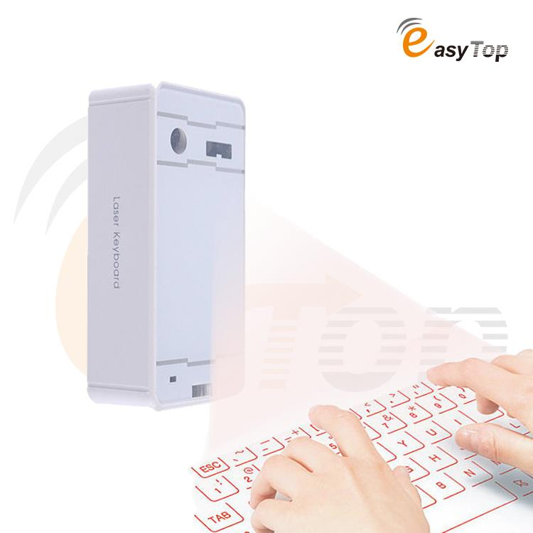 Full Size Wireless Bluetooth Virtual Laser Projection Keyboard English Ultra Portable Mini Keyboard For lenovo iphone huawei(China (Mainland))