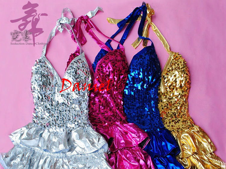 2015 new nobody club dresses free size fringe sequin dresses 6color skirt latin dance sequin clothing for women free shippingОдежда и ак�е��уары<br><br><br>Aliexpress