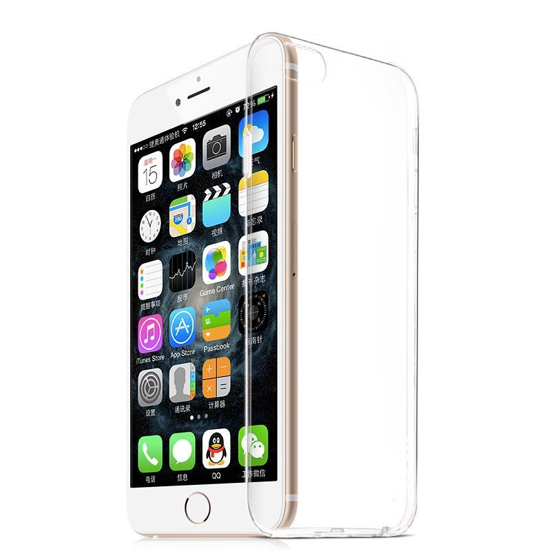 Top Quality Newest Fashion Ultra Thin Transparent Tpu Soft Silicon Capa Phone Anti-Dust Back Cover Cases For Apple Iphone 6 4.7(China (Mainland))