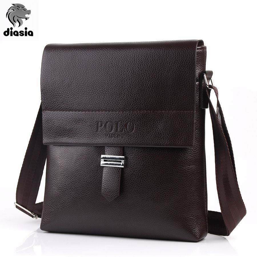 Male Famous Brand polo Design pu Leather Men Bag Casual Business Leather Mens Messenger Bag Vintage Men's Crossbody Bag bolsas(China (Mainland))