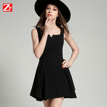 ZM Plus Size Summer Dresses 2016 New Fashion Sexy font b Women b font sleeveless OL