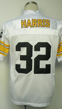 TERRY BRADSHAW ROCKY BLEIER Rod Woodson Franco Harris Jerome Bettis MEL BLOUNT Men's Throwback Jersey Size 48-56(China (Mainland))