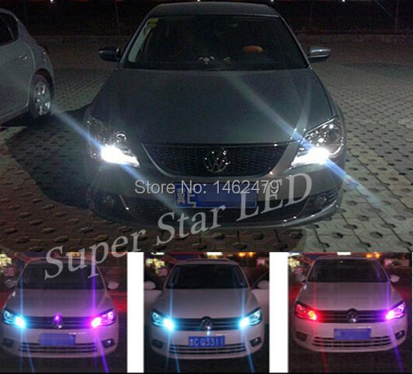 T10 W5W 12V LED Clearance Light Marker Lamp Bulb Canbus For VW Volkswagen Jetta Lavida Polo Bora Vistar Caddy Santana Passat(China (Mainland))