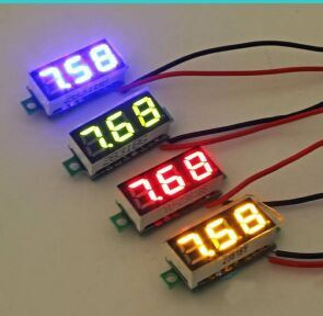0.28 inch Panel Mount LED Voltage Volt Meter DC 2.50~30V(China (Mainland))