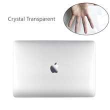 Кристалл жесткий ноутбук в виде ракушки чехол для MacBook Air Pro Retina 11 12 13 15 13,3 дюймов Touch Bar MacBook New Air 13 A1932 2018(China)