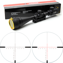 Hunting KANDAR 4.5-14x50 AOE riflescope RED Special Cross Reticle Sniper Optic Scope Sight FOR Rifle One Piece 11mm or 20mm Ring(China (Mainland))