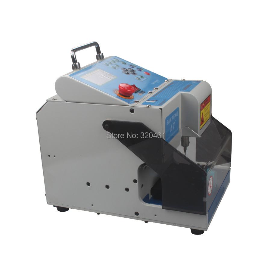 Automatic Electronic Key Cutting Machine Car Key cutter A7(China (Mainland))