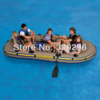 High Quality Intex Excursion 5 Persons Inflatable Boat Fishing/ INTEX-68325