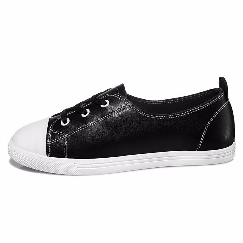 ซื้อ รองเท้าผู้หญิงMOOLECOLE 2016แฟชั่นใหม่ผู้หญิงรองเท้าวัวแยกหนังลื่นกับผู้หญิงรองเท้า6Q310-3