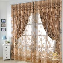 Engraving Curtain 2015 New Arrival Nobiliary Romantic With Aestheticism Simplicity Embossing Environmental For Window Shading(China (Mainland))