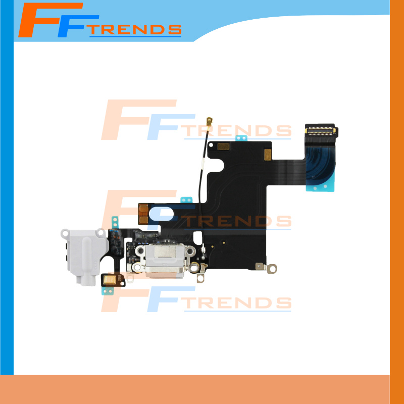 Charging Charger Dock Connector Audio Jack Flex Cable iPhone 6 4.7'' Replacement Repair Parts Free Ship - Shenzhen FFtrends Technology Co., LTD store