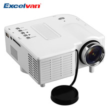 Excelvan GM40 Portable Mini Projector Multimedia Cinema Digital LED Projector 320x240 VGA/USB/SD/AV/HDMI Beamer Proyector(China (Mainland))