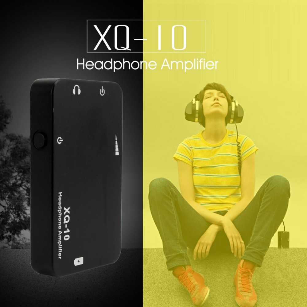Original XDUOO XQ-10 Mini Potable Earphone Headphone Amplifier Hifi Music Mobile Phones Pads PC - Fine Bluetooth Headset&Speaker Store store