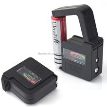 1 unid envío gratis batería Universal del probador del inspector del AA AAA 9 v botón del indicador del inspector A3279 mu44vZ