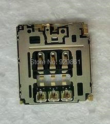 New original SIM card reader socket holder connector for Sony M2 S50H D2303 D2305 D2306 Moible phone