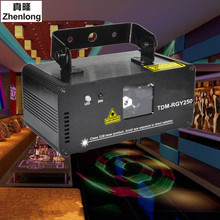 Buy Remote 3D 250mW RGY DMX512 Laser Scanner Projector Light DJ Disco Party Xmas Professional Stage Lighting Effect Show Lights for $80.09 in AliExpress store