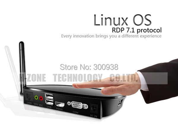 DHL Free 5pcs lot Wifi Linux Thin Client Computer workstation Dual Core 1Ghz Linux3.0 Embedded RDP 7.1 Protocol PC station(Hong Kong)