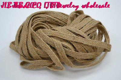 10mm 100 yards/lot NATURAL 10-PLY TWIST JUTE TWINE ROPE YARD STRING CRAFT(China (Mainland))