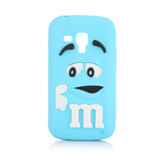Soft silicone M&M Fragrance Chocolate phone case cartoon cover For Samsung Galaxy Trend Plus S Duos S7562 S7580 S7560 7562 7560