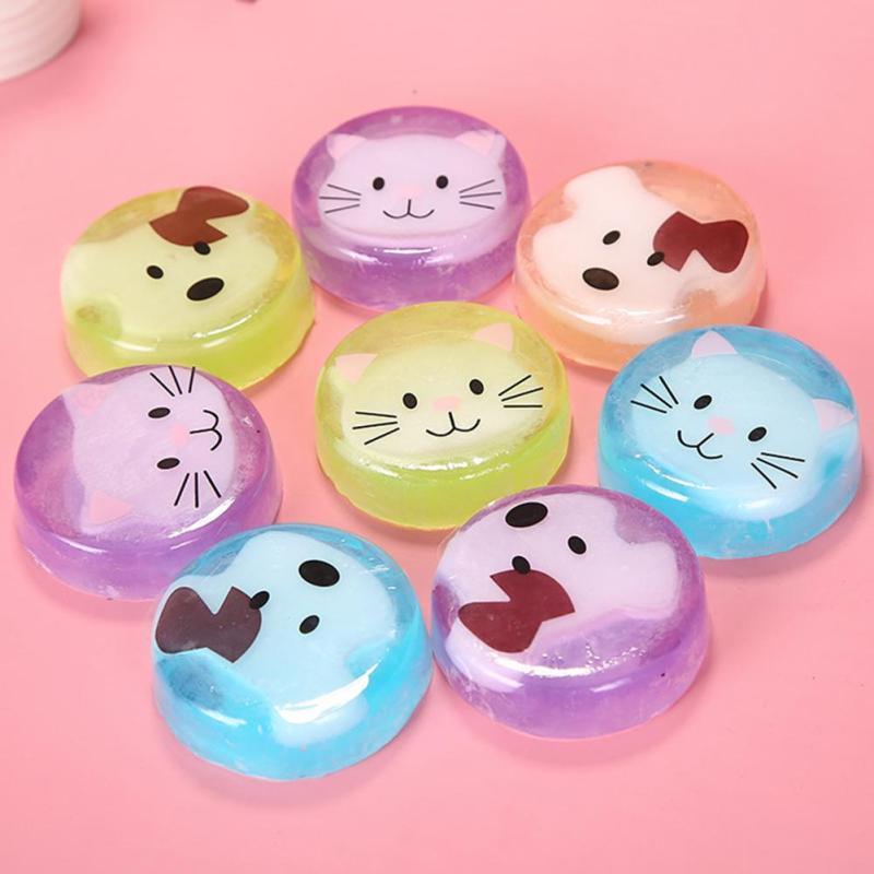1Pc Cartoon handmade soap remover blackhead acne skin whitening hand washing Cleansing soap Y1-5(China (Mainland))