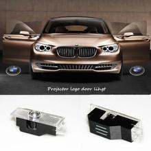 2X Car LED Courtesy Door Logo Projector Light Ghost Shadow Light FOR E63 E81 E82 E70 E71 X1 X3 X5 X6 E90 BMW E60 car styling(China (Mainland))