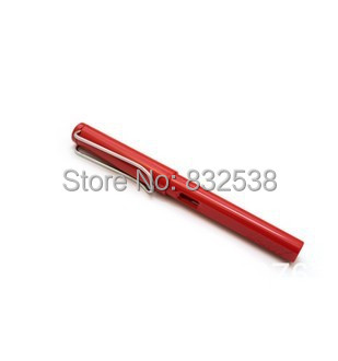 Free shipping LAMY Safari light red business Fountain pen (F),resin<br><br>Aliexpress