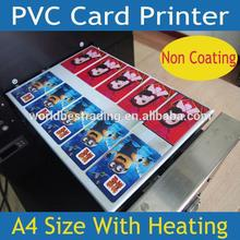 [K-PRINT] 6 Years Experience-Factory Supply Best Quality Best Price-Plastic PVC Card ID Card Printer 10PCS/Print Non Coating Car