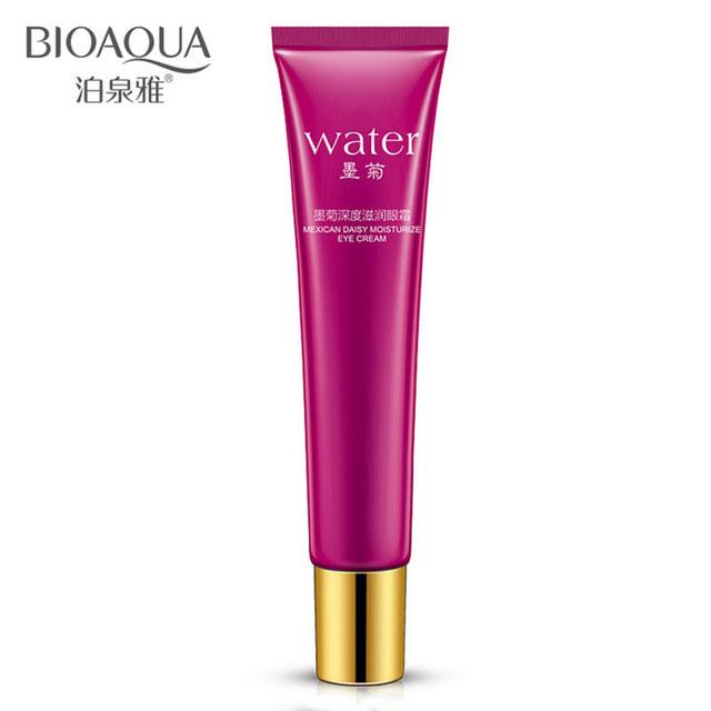 Bioaqua марка хризантемы уход за кожей глаз крем против морщин отбеливание увлажняющий ...