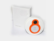 2015 wholesale New Wireless WIFI Smart Doorbell H.264 Wide Angle Lens Monitoring Via Mobile Phone Support IOS or Android System(China (Mainland))