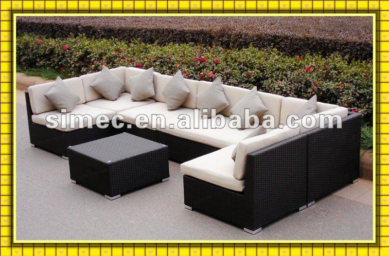factory hot sale popular style low cost outdoor wicker rattan furniture garden rattan sofa patio. Black Bedroom Furniture Sets. Home Design Ideas