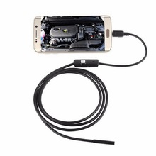 50% shipping fee 10 pcs 6 LEDs 720P Android USB Endoscope IP67 Waterproof Inspection 3.5M Cable CD Driver Borescope Vedio Camera(China (Mainland))