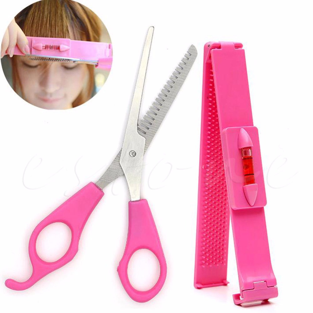 Bangs Hair Thinning Shears Barber Scissors Hairdressing Clipper Set Caliper #089<br><br>Aliexpress