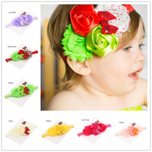 Buy 1pcs Photo Prop funny Christmas headband Sequin Hair Bow Baptism Gift hair flowers headbands hair accessory for $1.09 in AliExpress store