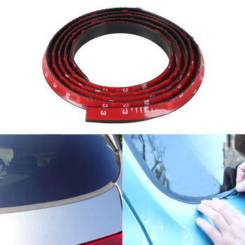 Auto Rubber Weatherstrip Flexibility Seal Strip Car Styling Trim Sealing Strips For Cars Front Windscreen