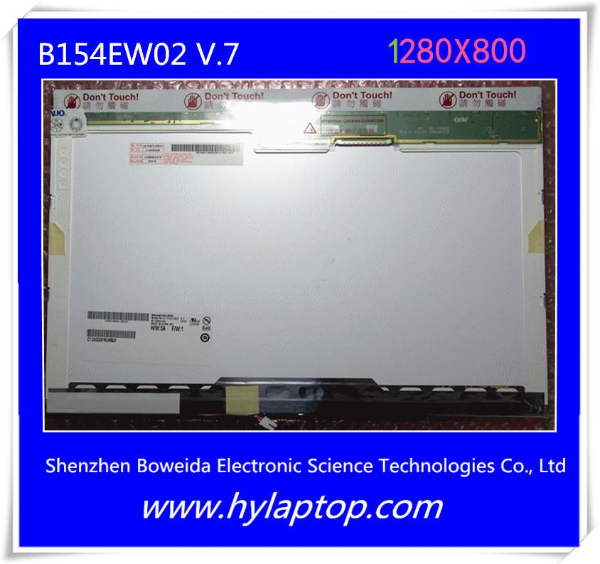 15.4 inch 1280X800 laptop New original bag A + B154EW02 V.7 screen.(China (Mainland))