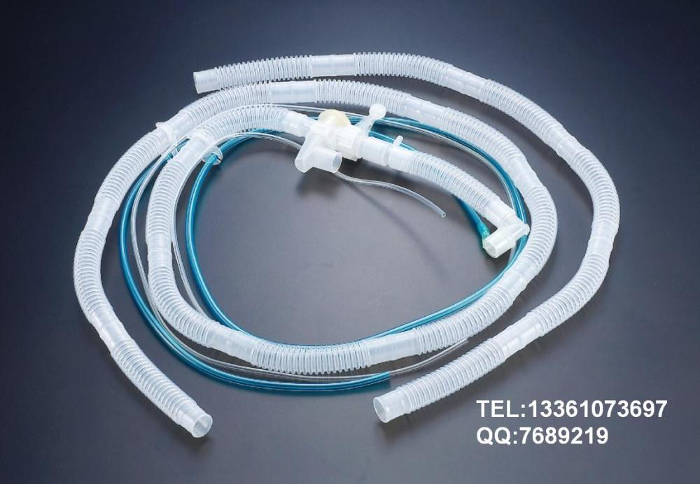 Import single pipe valve breathing circuits/corrugated breathing tubes/disposable breathing circuits/lines<br><br>Aliexpress