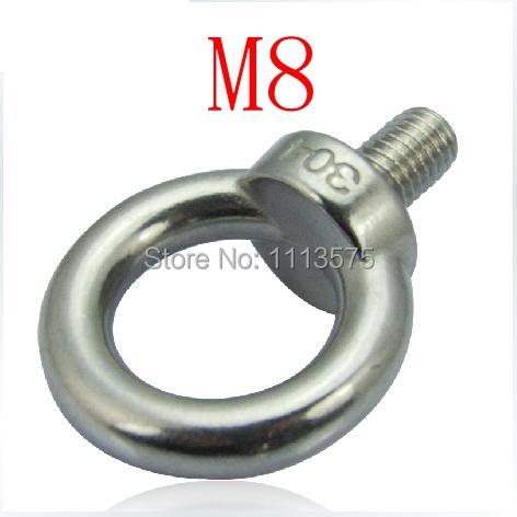 M8, 304 321 316 international standard stainless steel lifting ring eye bolt<br><br>Aliexpress