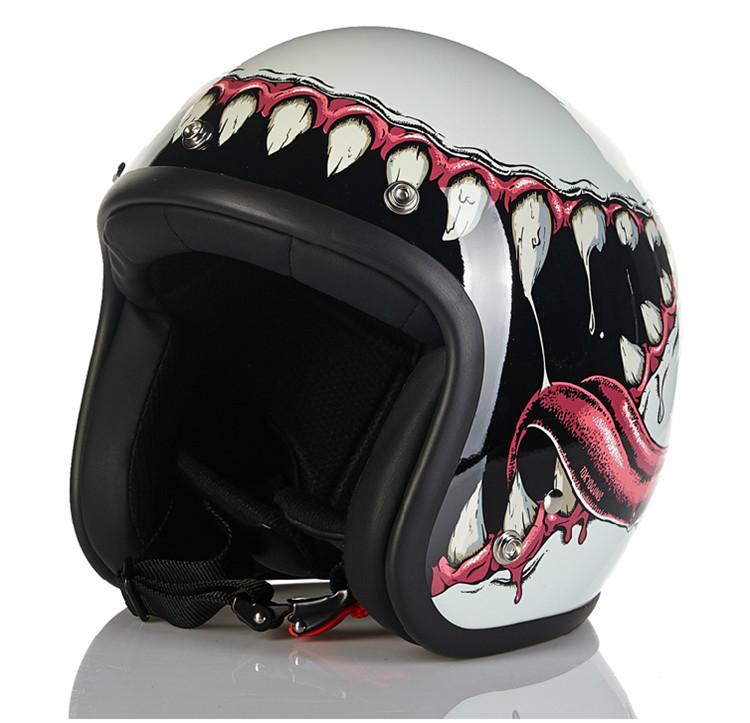 New arrival Marushin Venom Motorcycle helmet retro scooter open face helmet vintage 3/4 helmet moto casco motocicletas casco(China (Mainland))