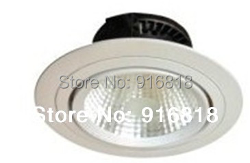 6 inch 15W EPISTAR/ CREE COB LED spotlight ceiling light recessed downlight hotel office 24 degree angle - Green mark store