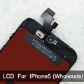 10PCS LOT For iPhone 5 LCD Display Screen Assembly With Original Digitizer Glass No Dead Pixel