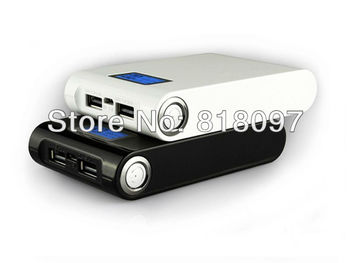 Free shipping-10000 mAh External Power Bank With LCD Screen For Iphone/HTC/Samsung/Tablet PC,PN-913