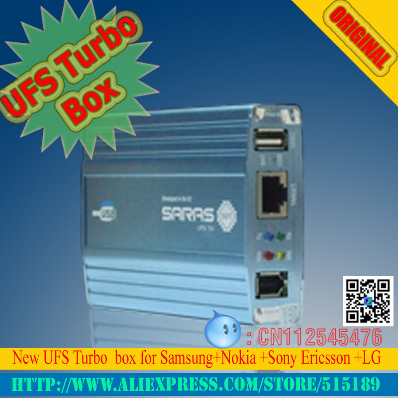 Original New UFS Turbo box UFS HWK BOX for Sam&NK UFST Box (Packaged with 4 cables)(China (Mainland))